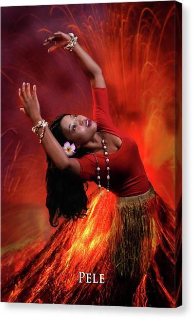Goddess Pele Canvas Print