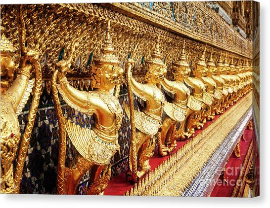 Canvas Print featuring the photograph Gods And Demons by Scott Kemper