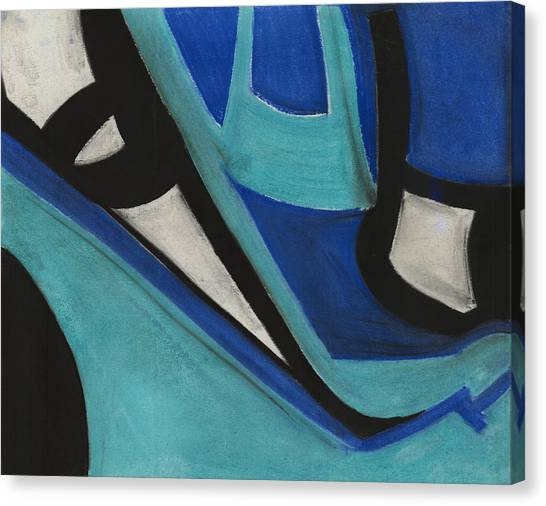 God's Eye Dyptych 1 Canvas Print by Diallo House
