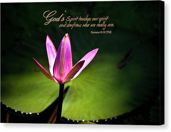 God's Spirit Canvas Print