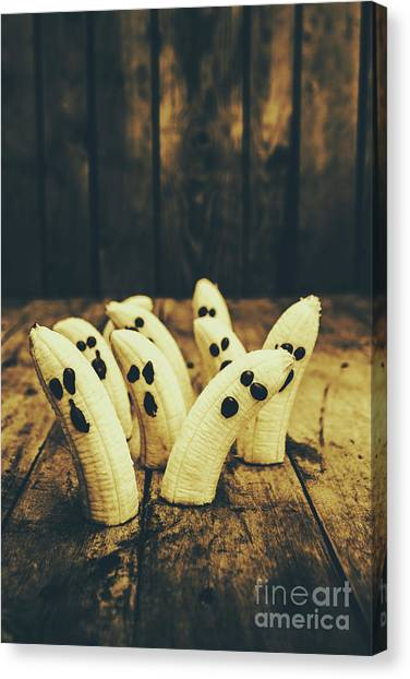 Bananas Canvas Print - Going Bananas Over Halloween by Jorgo Photography - Wall Art Gallery