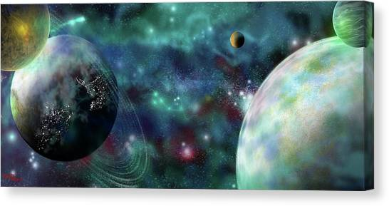 Going Further Canvas Print