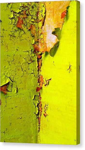 Hunt Canvas Print - Going Green by Skip Hunt