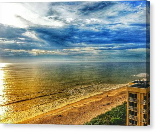 Gold Beach  Canvas Print
