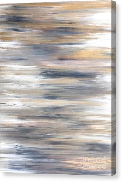 Gold Coast #21 Landscape Original Fine Art Acrylic On Canvas Canvas Print