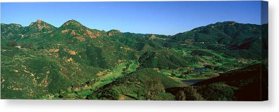 Mountain West Canvas Print - Gold Course, Malibu, California by Panoramic Images