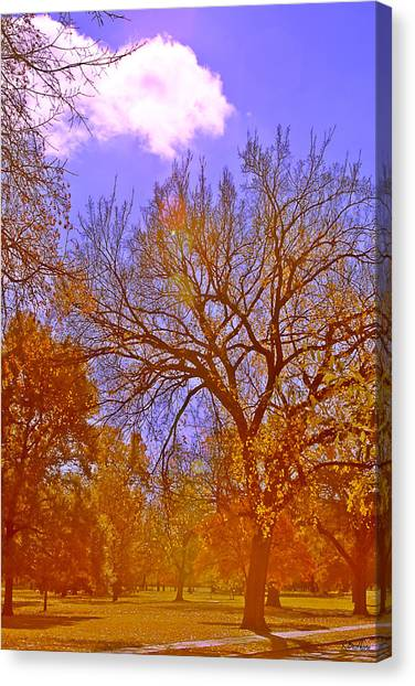 Gold Day Canvas Print