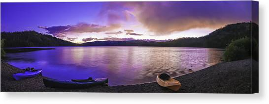Gold Lake Pano Canvas Print
