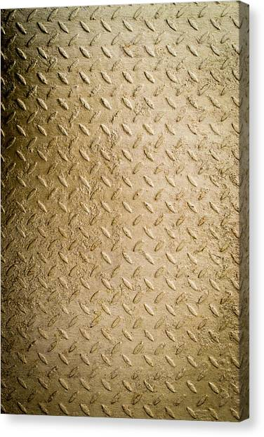 Grit Of Goldfinger Canvas Print