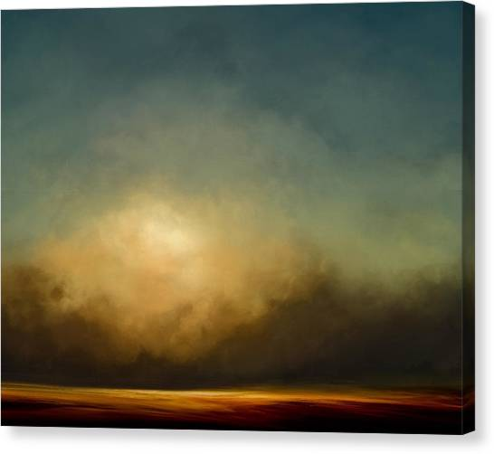 Sublime Canvas Print - Gold Shift by Lonnie Christopher