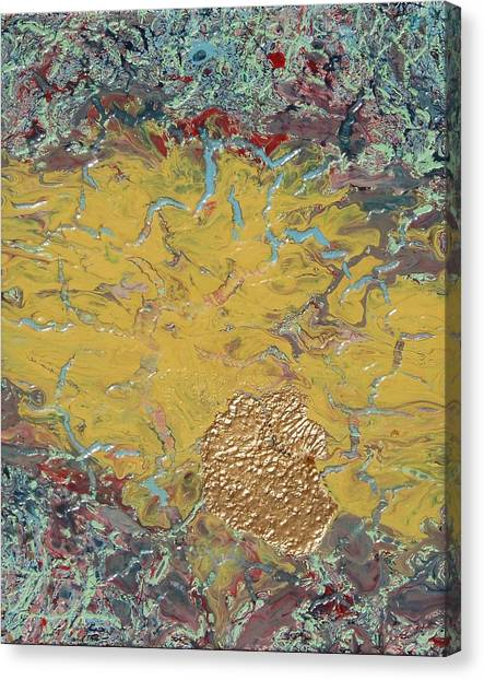 Gold Spot Canvas Print