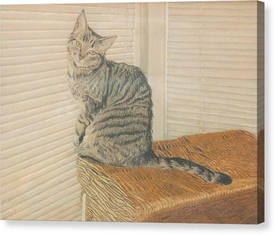 Goldberry Canvas Print by Miriam A Kilmer