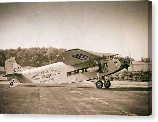 Golden Age Trimotor Canvas Print