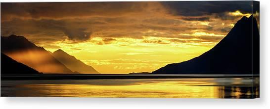 Alaska Canvas Print - Golden by Chad Dutson