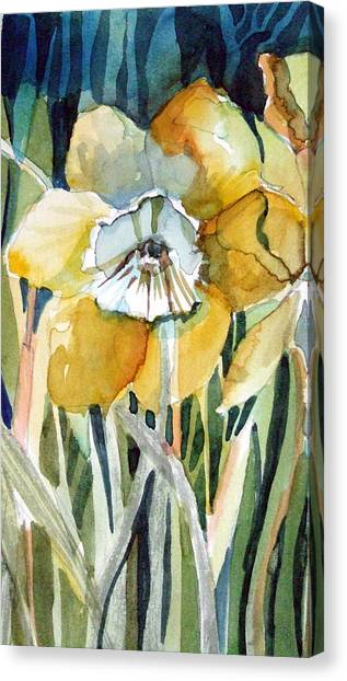 Golden Daffodil Canvas Print