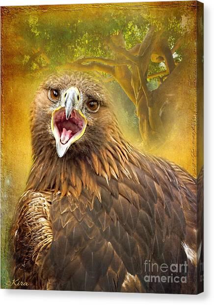 Golden Eagle Call Canvas Print