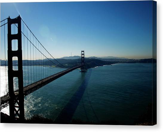 Golden Gate Blues Canvas Print