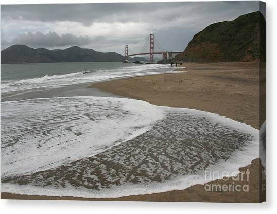 Golden Gate Study #3 Canvas Print