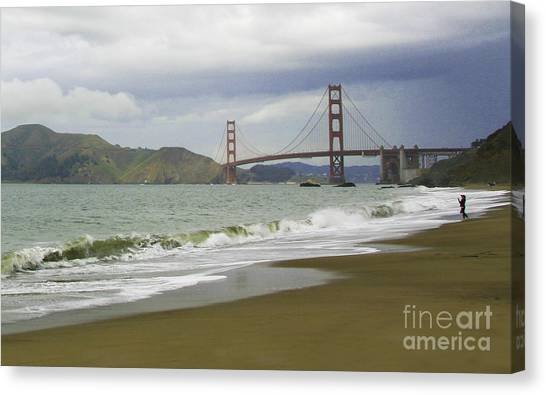 Golden Gate Bridge #4 Canvas Print