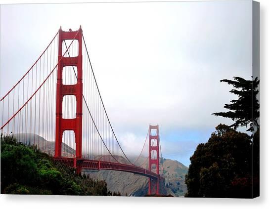 Golden Gate Bridge Full View Canvas Print