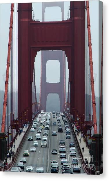 Golden Gate Bridge, San Francisco Canvas Print