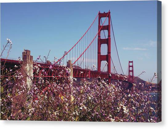 Canvas Print - Golden Gate by The Artist Project