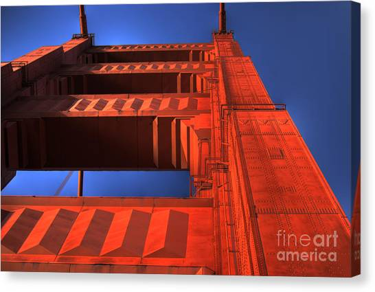 Golden Gate Tower Canvas Print