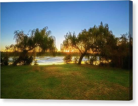 Golden Lake, Yanchep National Park Canvas Print