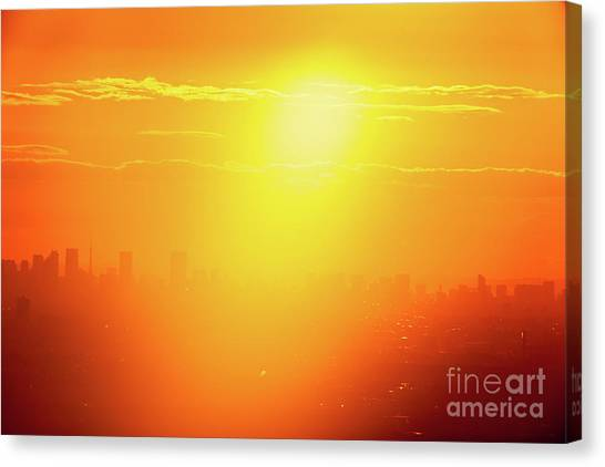 Golden Light Canvas Print