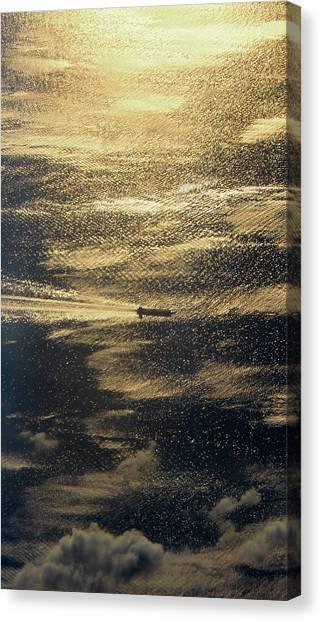 Golden Ocean Canvas Print