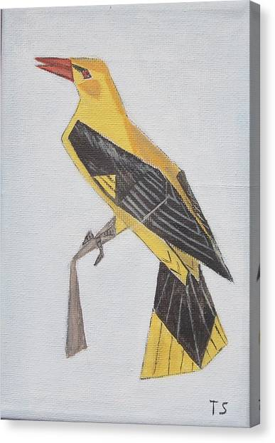 Golden Oriole Canvas Print