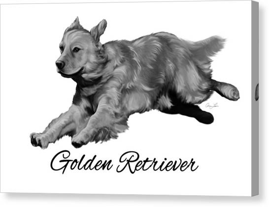 Golden Retriever Canvas Print