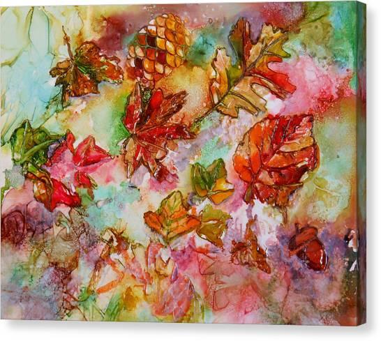 Golden Season Canvas Print
