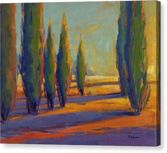 Golden Silence 2 Canvas Print