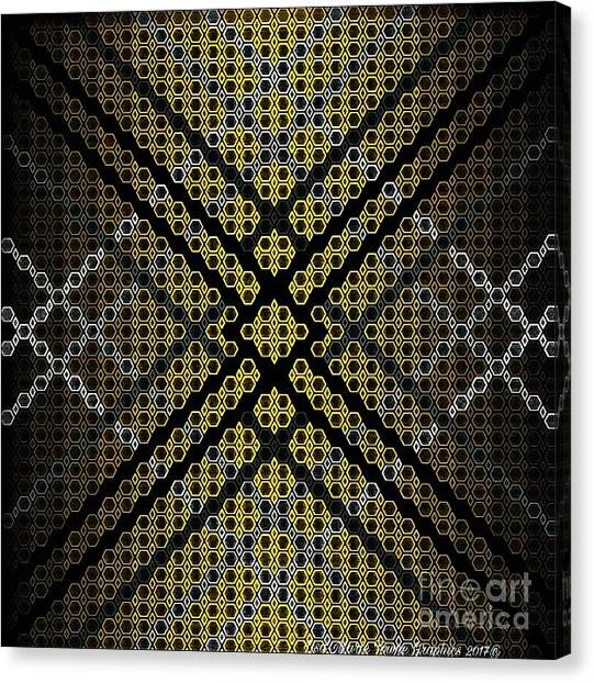 Canvas Print - Golden Tri by Lisa Marie Towne
