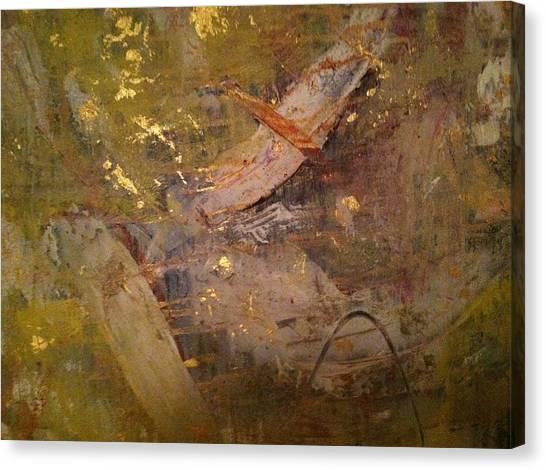 Canvas Print - Golden Wind by Uldra Patty Johnson