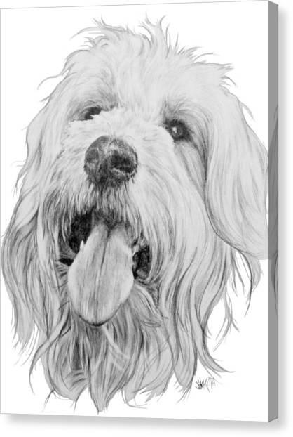 Goldendoodle Canvas Print