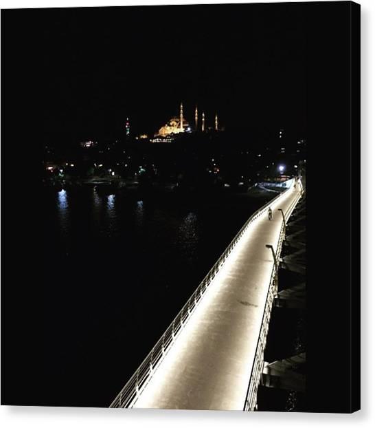 Turkish Canvas Print - #goldenhorn #haliç #istanbul #turkey by Ozan Goren
