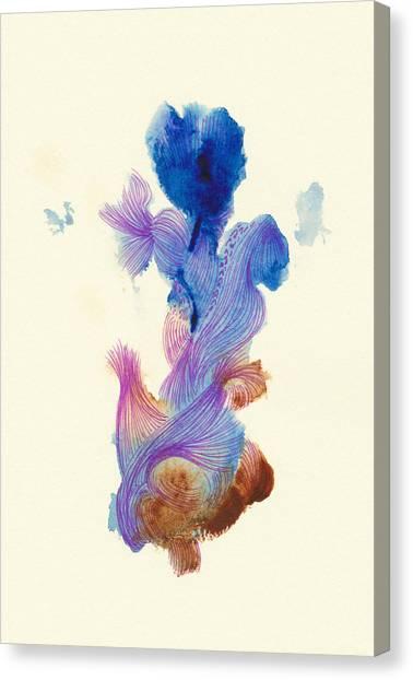 Goldfish- #ss14dw031 Canvas Print by Satomi Sugimoto