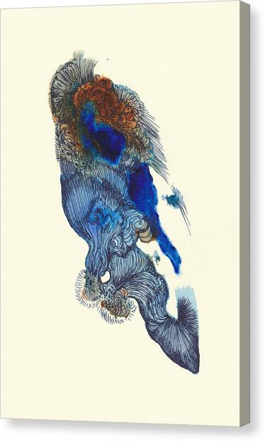 Goldfish- #ss14dw033 Canvas Print by Satomi Sugimoto
