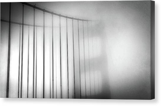 Golen Gate Fog Canvas Print