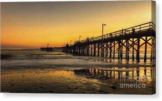 Goleta Sunset Canvas Print