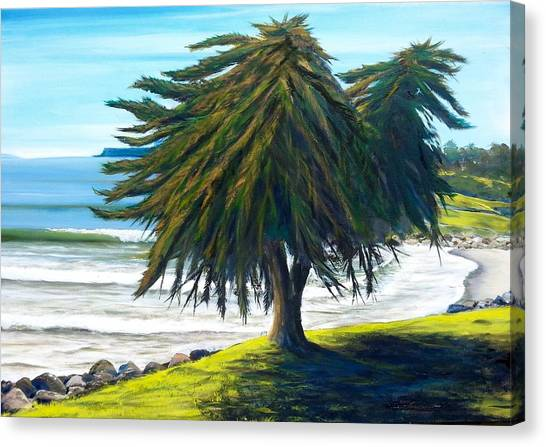 Ucsb Canvas Print - Goleta Survivor by Jeffrey Campbell