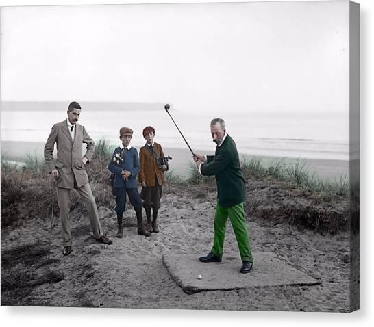 Golf 1907 Dream Canvas Print