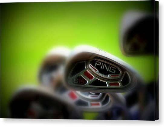 Golf Clubs 2 Canvas Print