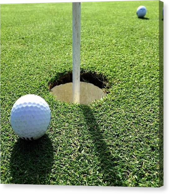 Golf Canvas Print - Golf #juansilvaphotos #photography by Juan Silva