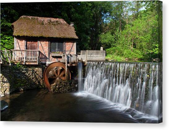Gomez Mill In Spring #1 Canvas Print