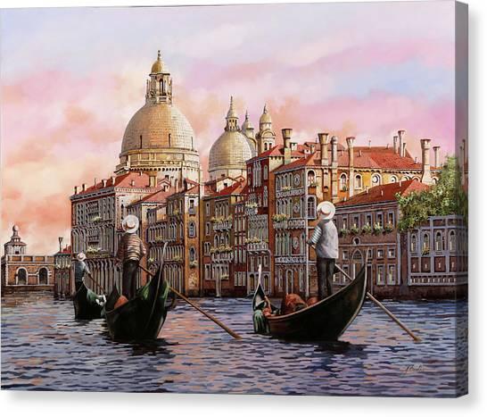 Ca Canvas Print - Gondolando Gondolando by Guido Borelli