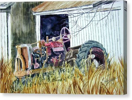 Gone But Not Forgotten Canvas Print