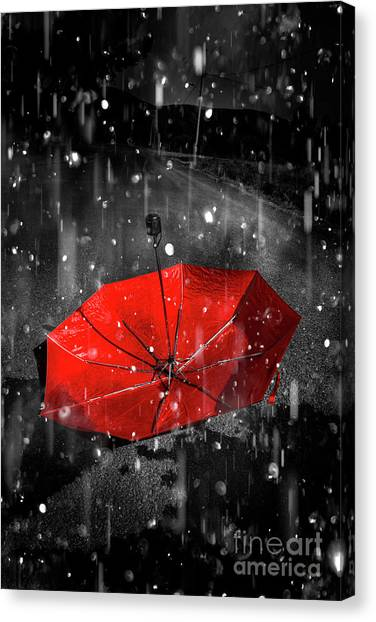 Raining Canvas Print - Gone With The Rain by Jorgo Photography - Wall Art Gallery